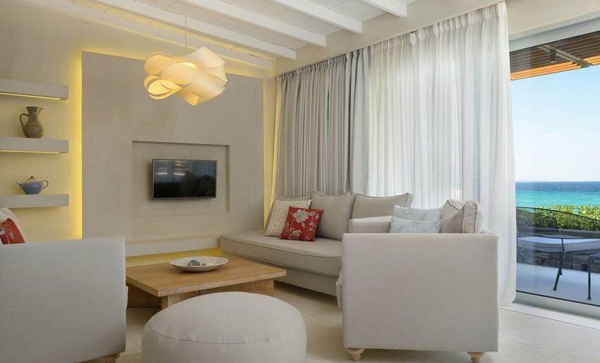 Makryammos Bungalows Hotel tasos grcka letovanje apartmani