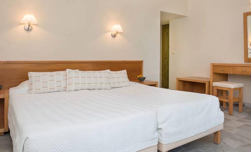 Makryammos Bungalows Hotel tasos grcka letovanje soba
