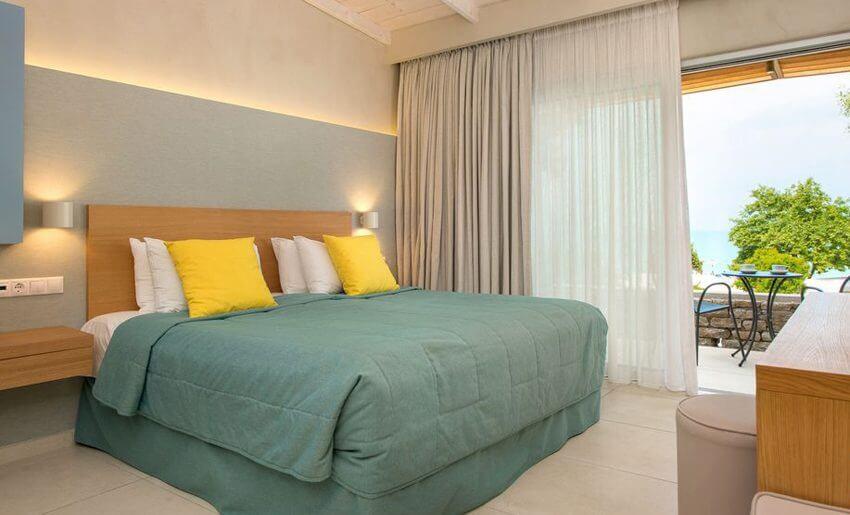 Makryammos Bungalows Hotel tasos grcka letovanje sobe
