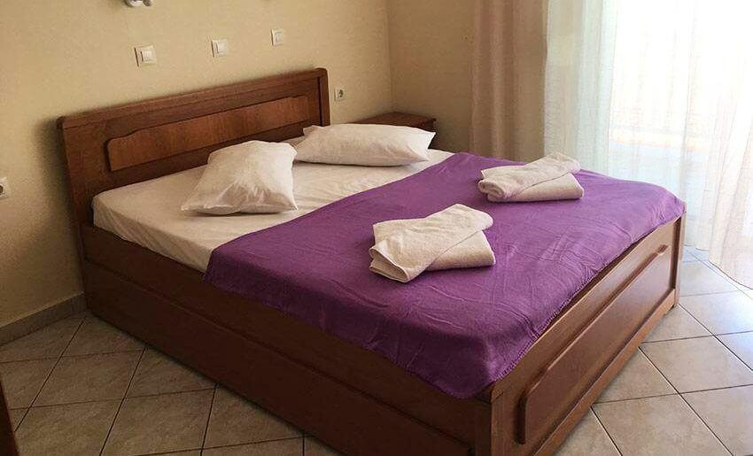 Maria 2 Vila Tasos grcka letovanje apartmani dvokrevetna soba