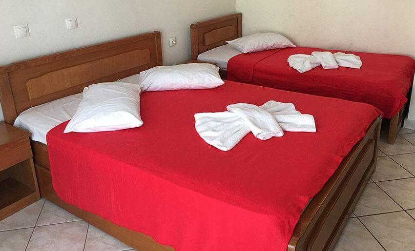 Maria 2 Vila Tasos grcka letovanje apartmani soba 1