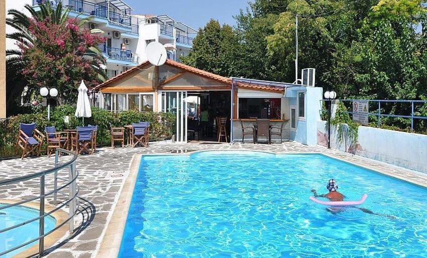 Maria Vila Tasos grcka apartmani letovanje bazeno