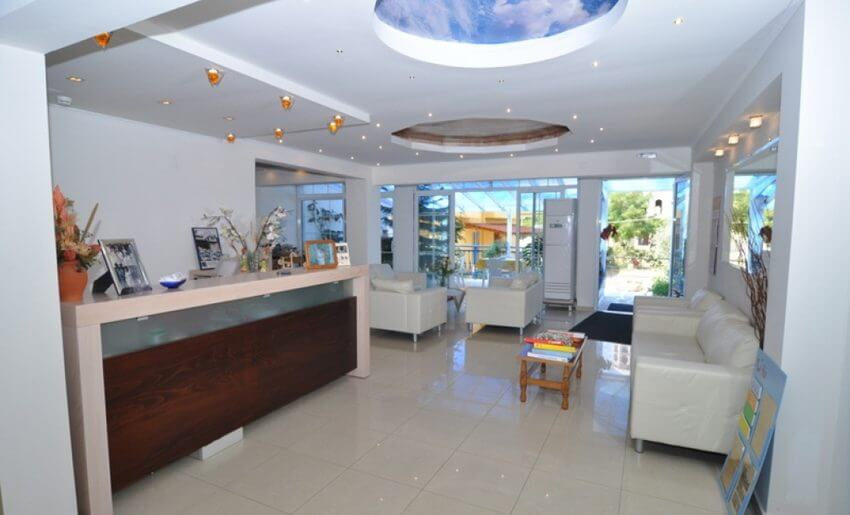 Maria Vila Tasos grcka apartmani letovanje recepcija