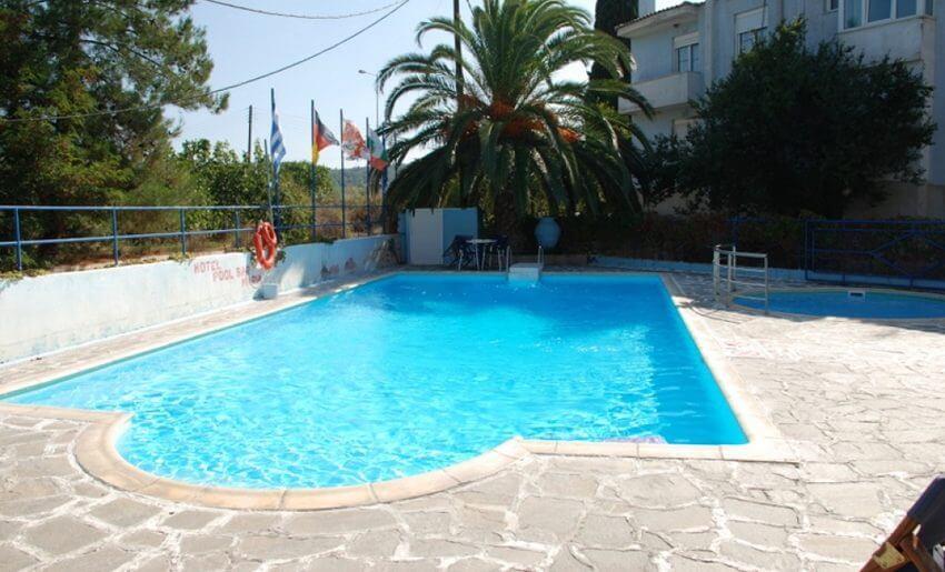 Maria Vila Tasos grcka letovajne bazen