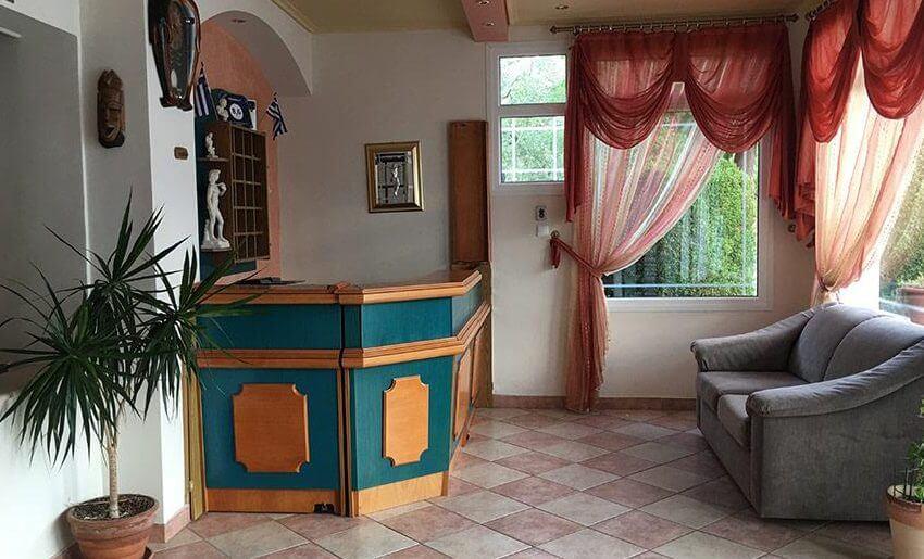 Mary 1 Vila Tasos grcka letovanje apartmani recepcija
