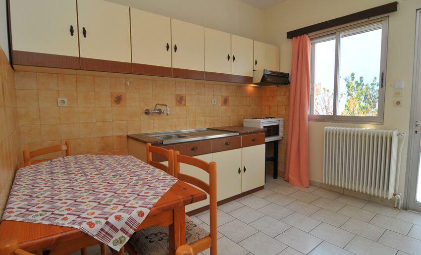 Olga Vila Tasos grcka apartmani kuhinja