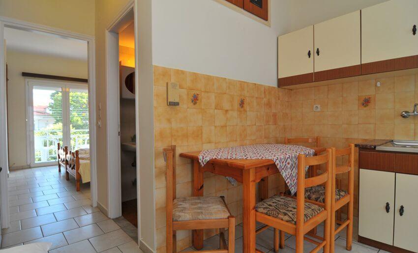 Olga Vila Tasos grcka apartmani letovanje kuhinja