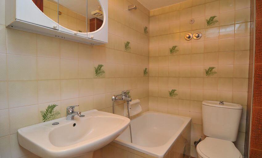 Olga Vila Tasos grcka apartmani letovanje kupatilo