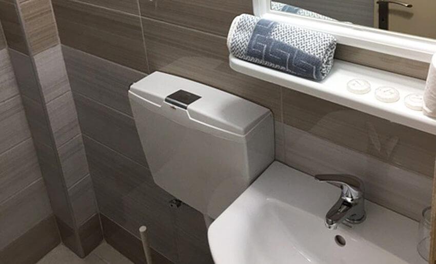 Pefkari Bay Vila Tasos grcka letovanje kupatilo