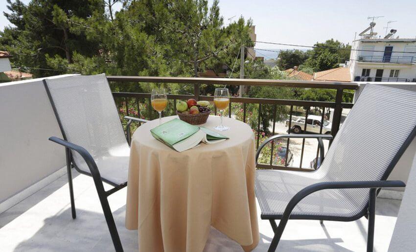Potos Sun Vila Tasos smestaj grcka letovanje terasica
