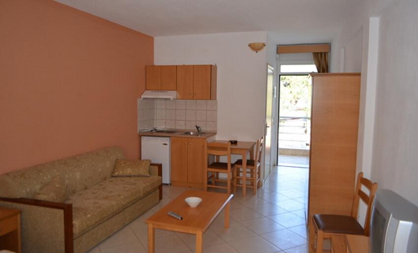 Smestaj na tasosu apartmani vila nikos letovanje u grckoj
