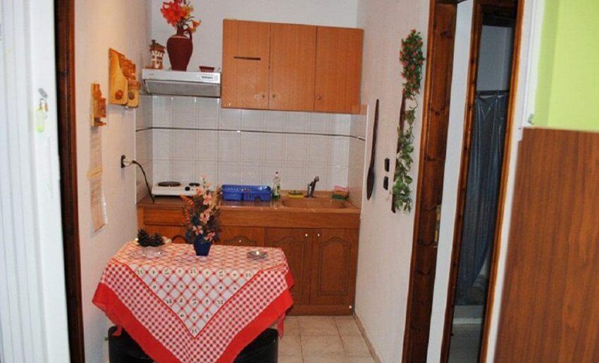 Sofia Vila Tasos Letovanje Grcka apartmani kuhinja