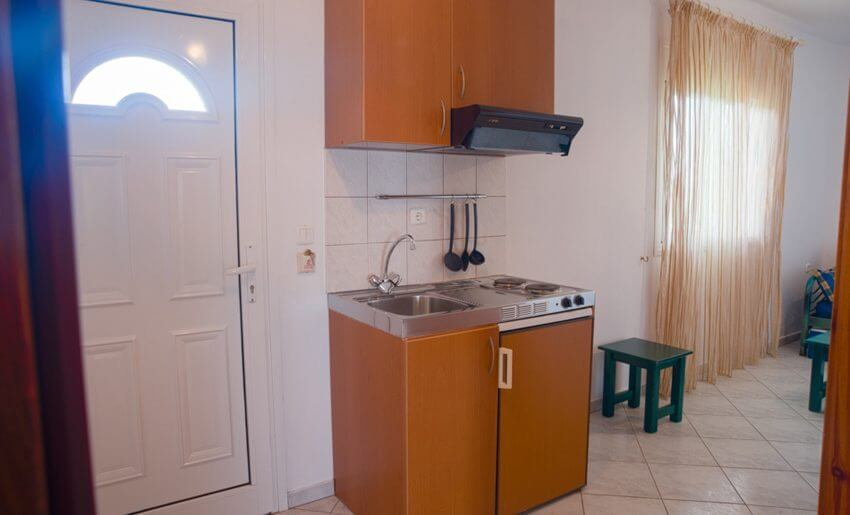 Suzana Vila Tasos grcka apartmani letovanje kuhinja