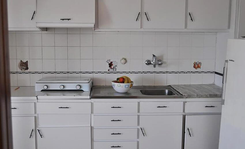 Vaso 2 Vila Tasos smestaj grcka apartmani kuhinja