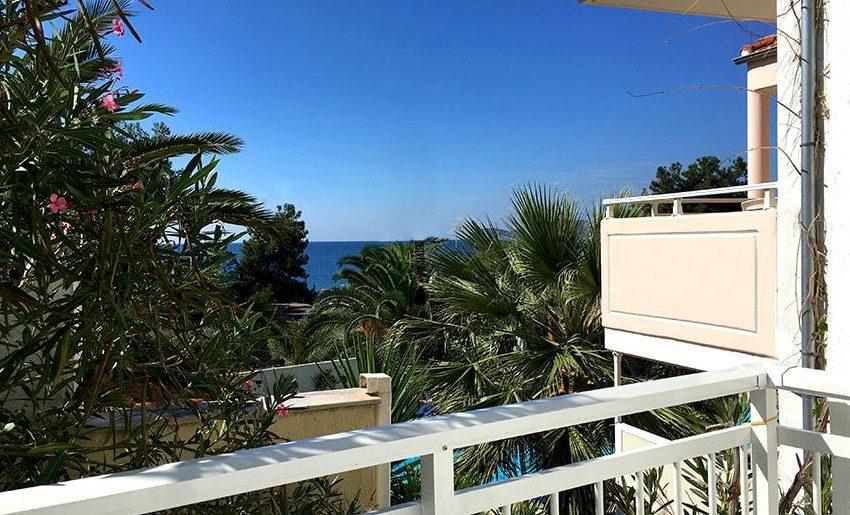 Veneta Vila Tasos Letovanje grcka pogled sa terase