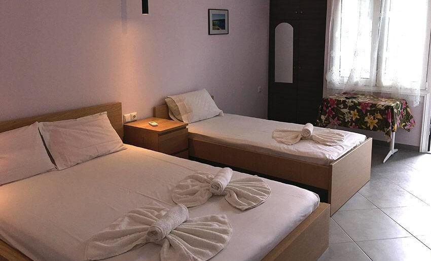 Vila Dorotea tasos grcka apartmani letovanje trokrevetna soba