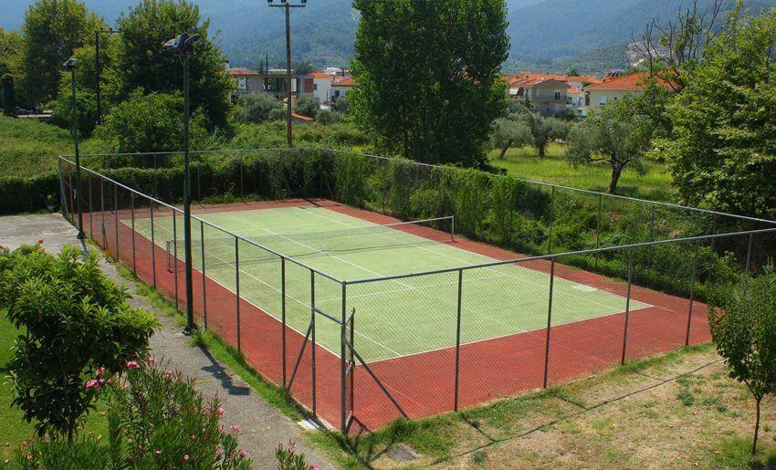 hotel aethria tasos smestaj grcka letovanje teniski teren