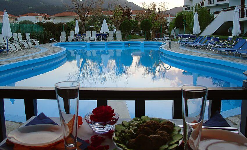 hotel makedon smestaj na tasosu grcka letovanje bazen