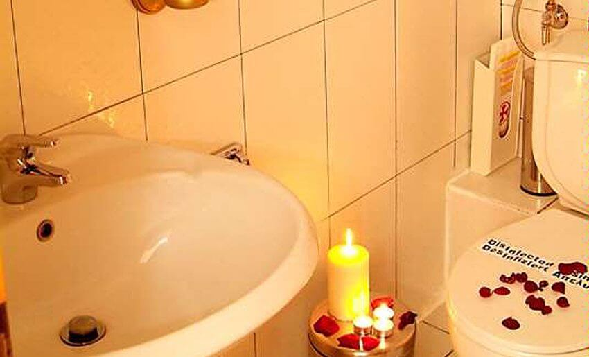 hotel makedon smestaj na tasosu kupatilo