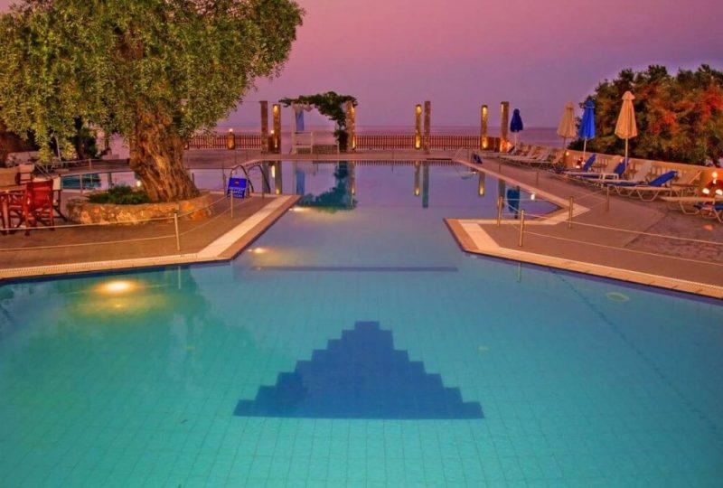 hotel maranton beach grcka smestaj 1