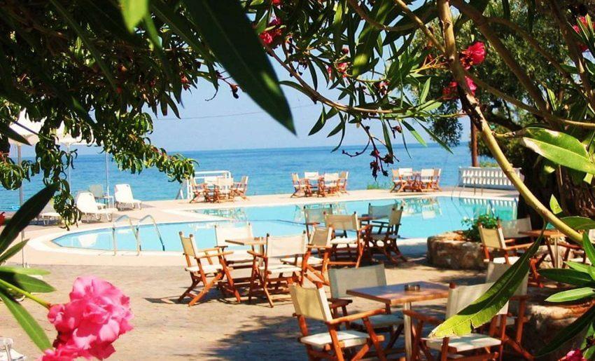hotel maranton beach grcka smestaj apartmani letovanje bazen