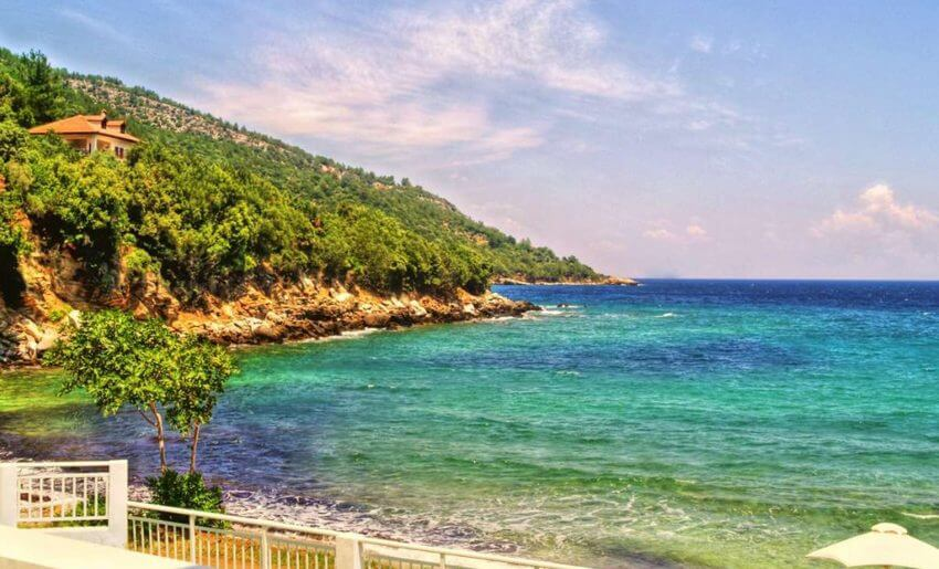 hotel maranton beach grcka smestaj apartmani letovanje more