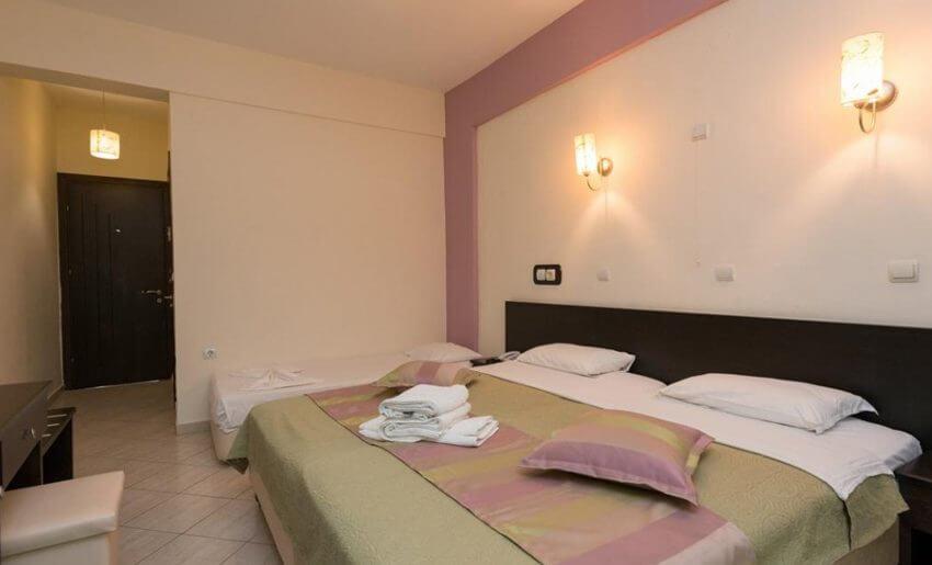 hotel maranton beach grcka smestaj apartmani letovanje standard room