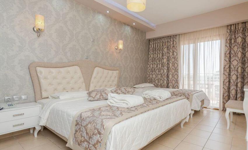 hotel maranton beach grcka smestaj apartmani letovanje superior soba