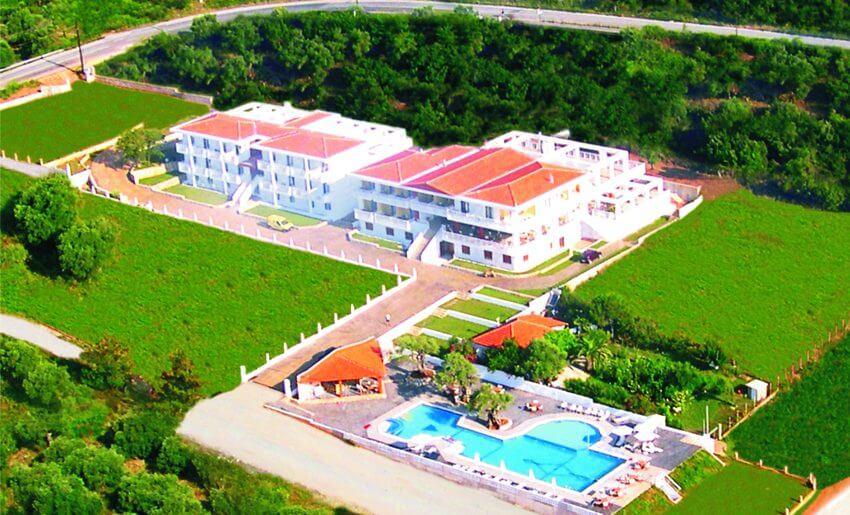 hotel maranton beach grcka smestaj apartmani letovanje