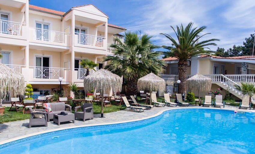 hotel potos smestaj na tasosu grcka hoteli bazen