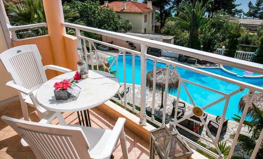hotel potos smestaj na tasosu grcka hoteli terasa