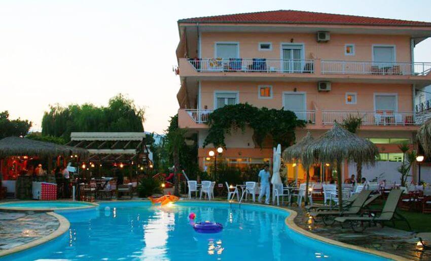 hotel potos smestaj na tasosu grcka hoteli