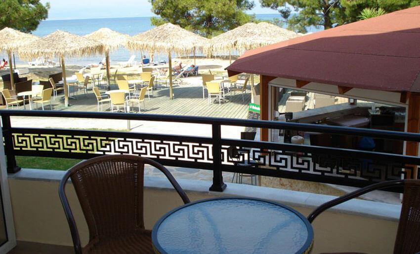 hotel rachoni resort tasos grcka letovanje terasa