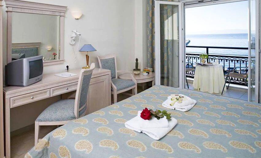 hotel timoleon smestaj na tasosu grcka letovanje soba