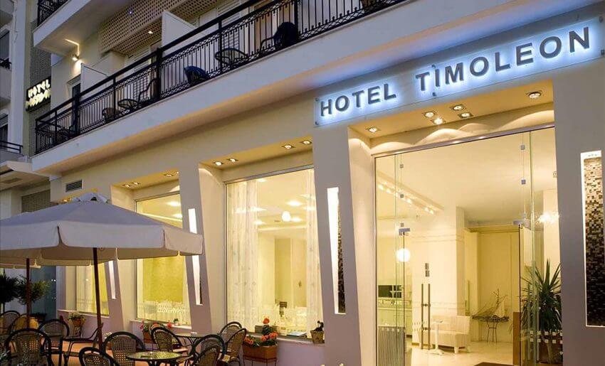 hotel timoleon smestaj na tasosu grcka letovanje ulaz
