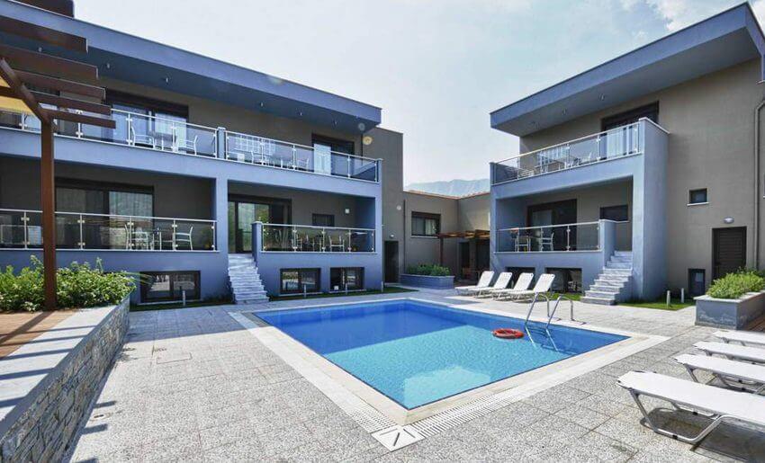 marys residence suites hotem smestaj grcka apratmani letovanje bazeni