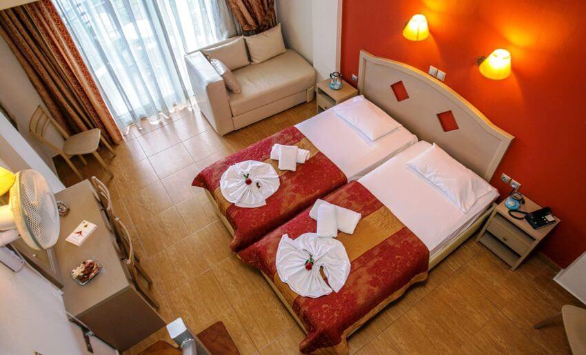 thalassies hotel tasos dvokrevetna soba
