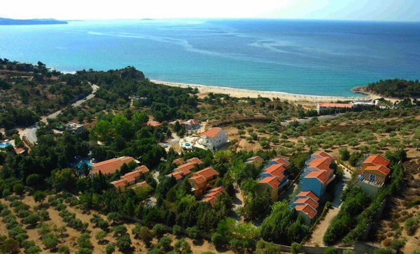 trypiti hotel tasos grcka letovanje grcka apartmani pogled