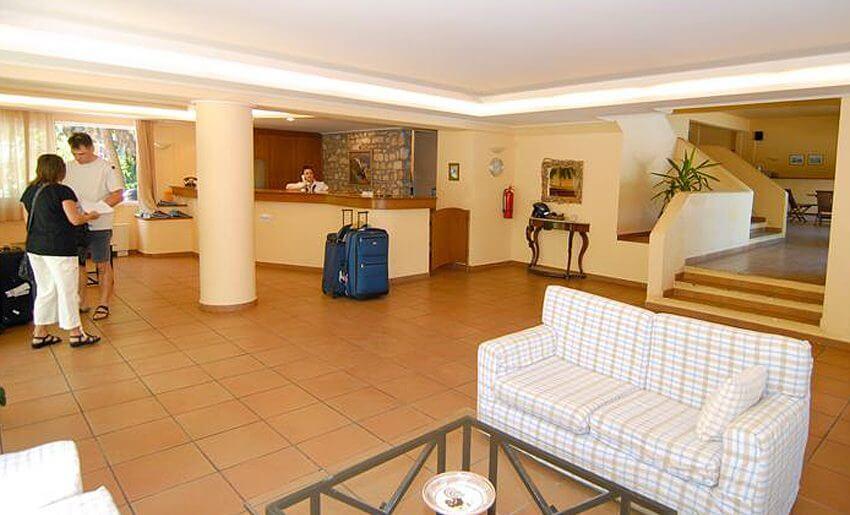 trypiti hotel tasos grcka letovanje grcka apartmani recepcija
