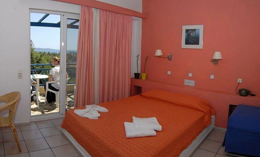 trypiti hotel tasos grcka letovanje grcka apartmani soba