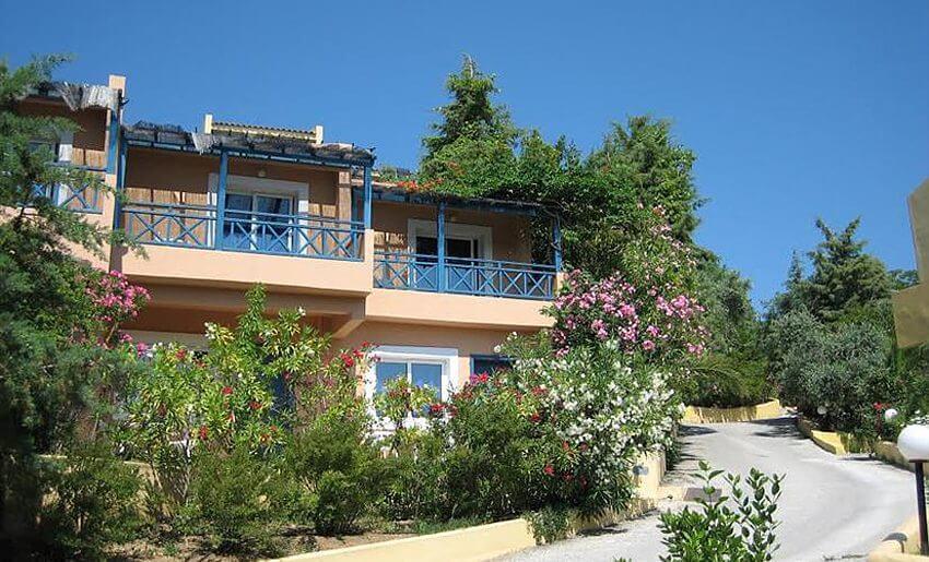 trypiti hotel tasos grcka letovanje grcka apartmani zgrada