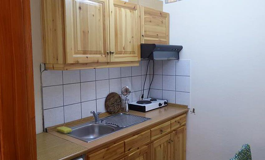vila janis tasos smestaj grcka letovanje kuhinja