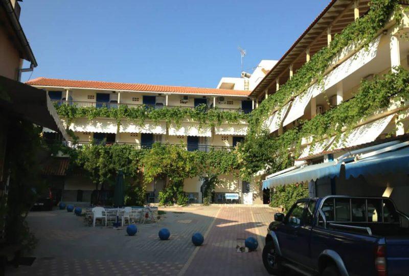 Aegean Hotel tasos grcka leto 1