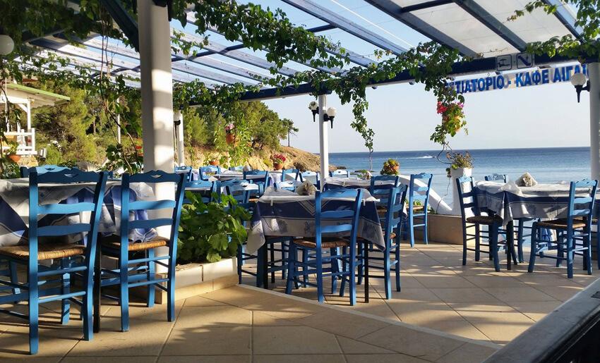 Aegean Hotel tasos grcka restoran