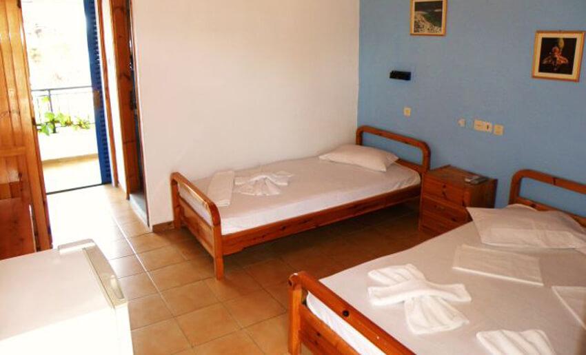 Aegean Hotel tasos grcka sobe