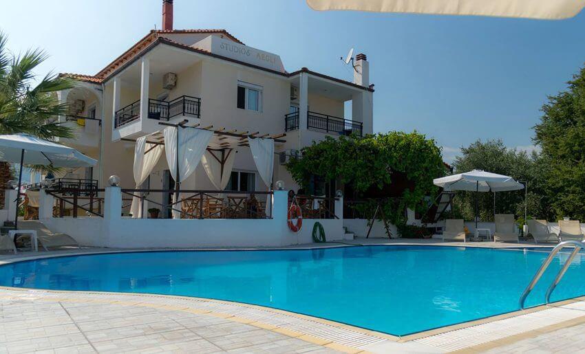 Aegli Hotel Tasos grcka letovanje
