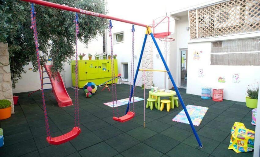 Afrodite Studio Tasos grcka letovanje igraliste za decu