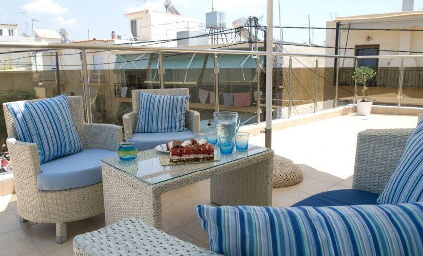 Afrodite Studio Tasos grcka letovanje terasa