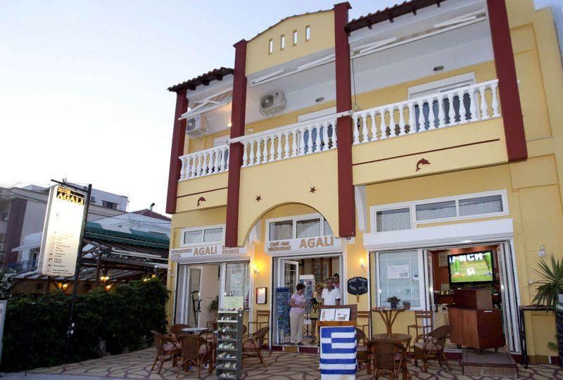 Agali Hotel limenarija tasos 1