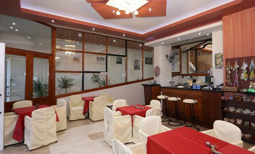 Agali Hotel limenarija tasos recepcija